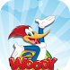 woody super woodpecker Adventure World Run by app screen