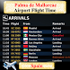 Palma de Mallorca Airport Flight Time by AsoftTech Solutions