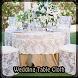 Wedding Table Cloth by Jillian Jones