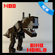 Dino World Mod for MCPE by ForCraft