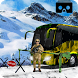 VR Army Snow Base Soldier Transport