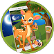 Forest Moon Deer Launcher Theme by Luxury Mobile Themes