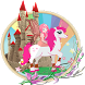 Mia,me and Unicorn horse world by kingame
