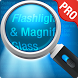 Magnifying Glass + Flashlight by RV AppStudios