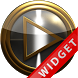 Poweramp Widget Gold Platinum by Maystarwerk Skins & Widgets Vol.1
