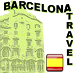 Barcelona Sightseeing Travel. Spanish version by Travel arround fun with dog apps
