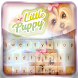 Little Puppy Keyboard Theme by Super Keyboard Theme