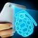 Hologram 3D Grenade Joke