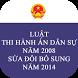 Luật Thi hành án Dân sự 2008 SĐBS 2014 by saokhuedl