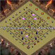 Top Town Hall 10 War Base Map by ZahraStudio