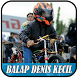 Video Denis Kecil Balap Motor