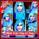 Hijab Style Step By Step by Purnama Studio