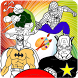 How To Color SuperHero Squad by KidsColoringGames91