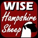 Wise Hampshire Sheep by Countrylovin, Ltd