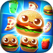 Burger Pop - Match 3 Mania by LumiNet Best Free Fun Games