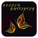 Gold Butterfly theme wallpaper by New CM Launcher Theme