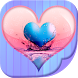 Love Heart Live Wallpaper HD by Cute Girly Apps