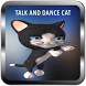 Talk, Dance cat & Girl by Sarmad Tech
