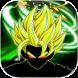 Super battle goku Saiyan by 3d-smart