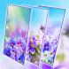 Purple Flower Live Wallpaper by zhan xishe