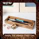 Simple DIY Wooden Pencil Case