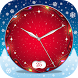 Live Clock Wallpaper Christmas by Thalia Premium Photo Montage