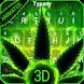 Live Flame Rasta Theme&Emoji Keyboard