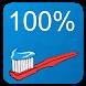 100% clean teeth