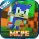 Map Sonic Parkour for MCPE by Golden Mods Collection