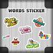 GO Keyboard Sticker Words Sticker by Best Design Keyboard
