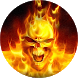 Fire Skull Live Wallpaper by AndApplique