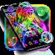 Neon Lion Cool Theme