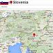 Slovenia by Borgo Map