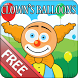 Clown's Balloons by G. Alexander