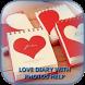Love Diary With Photos Help
