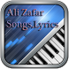 Ali Zafar Songs,Lyrics by randomapps