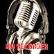 Gravador de Voz com Alta Qualidade Voice Recorder by Jubiaba Kirino