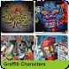 Graffiti Characters by Bregidau OK