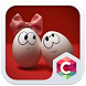 Best Cute Egg Couples Theme by Pop Locker Team - Hide Secret App