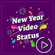 Video Status on New year 2018 for Whatsapp by Elite Saga