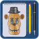 drawing step by step to Draw FnaF by happy apps for fans