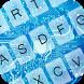 Blue Circuit Keyboard Theme by KeyboardThemez