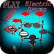 Real Electric Drum Set by benanapp