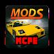 Cars Minecraft mod MCPE