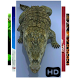 Crocodile Live 3D Wallpaper by BenjiBenison