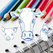 Draw animals - Farm by BHT APPS