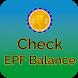 EPFO Balance Check Online