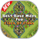Base Maps for Clash of Clans by Mobileapp Studio