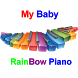 My Baby Rainbow Piano Lullaby by My3 Arts