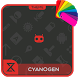 Theme XPERIEN™-Cyanogen Red